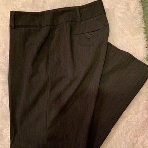 Gray loft slacks
